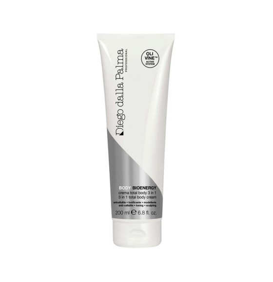Crema total body 3 in 1 anticellulite - tonificante - modellante Diego dalla Palma Professional 200 ml